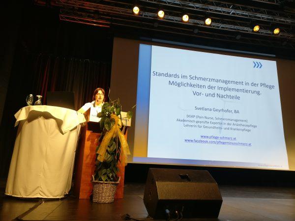 AT: Rückblick Pflegesymposium der Gesellschaft für Schmerzmanagement der Gesundheits- und Krankenpflege