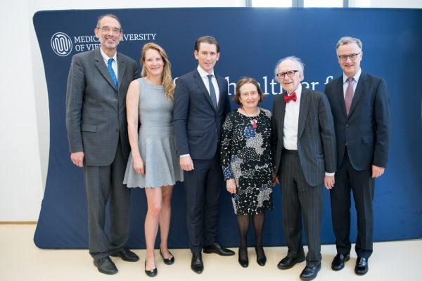 AT: Eric Kandel erhält Ehrendoktorat der MedUni Wien