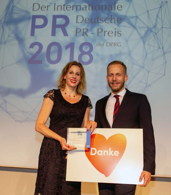 DE: Haus der Barmherzigkeit gewinnt Internationalen Deutschen PR-Preis