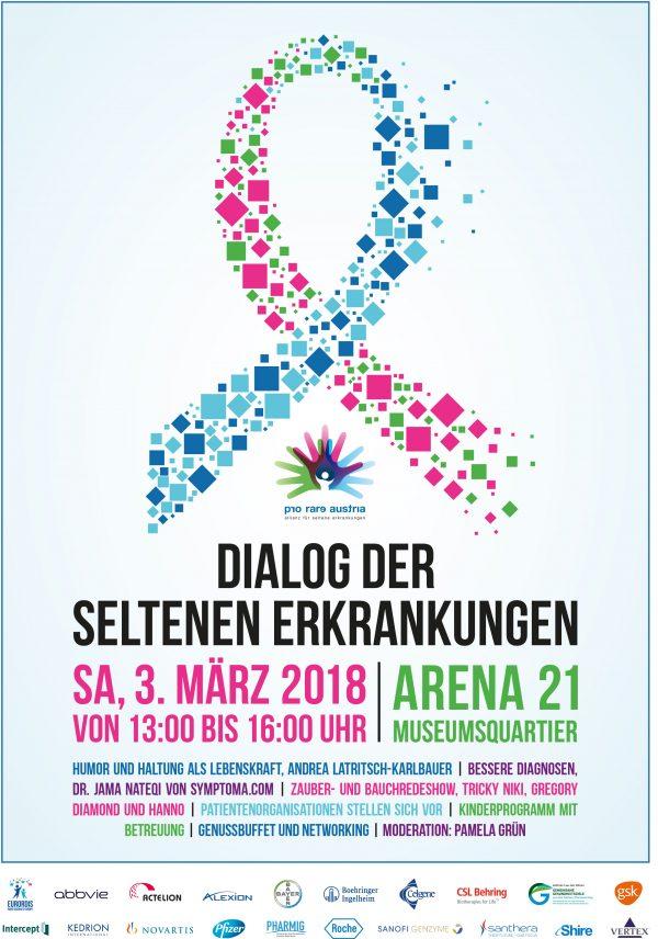 AT: Dialog der seltenen Erkrankungen – 400.000 Patienten in Österreich!