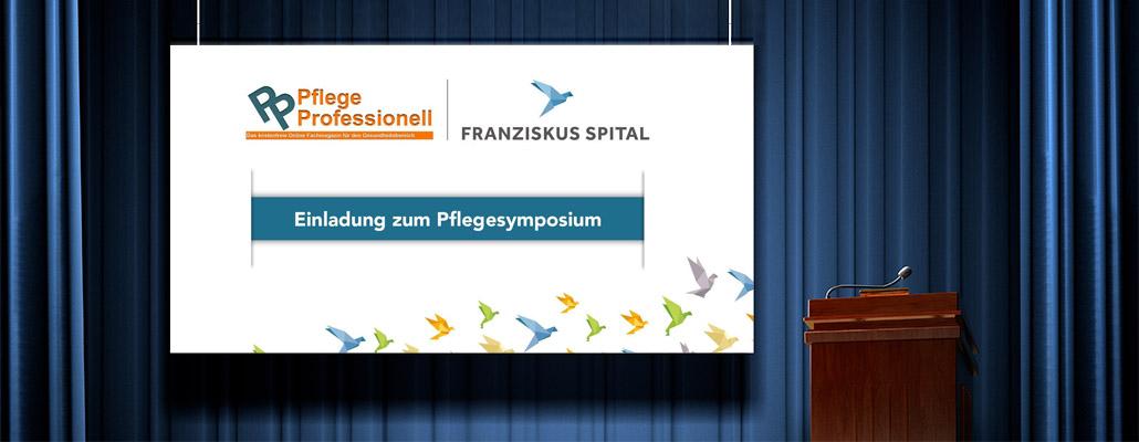 """Symposium """"Pflege mit Weitblick"""