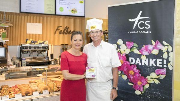 AT: Bäckerei Felber unterstützt Hospizumbau