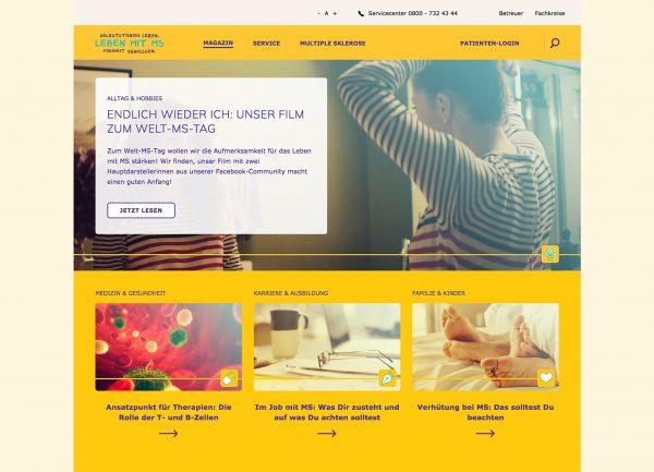 DE: Digitales Ökosystem für Menschen mit Multiple Sklerose