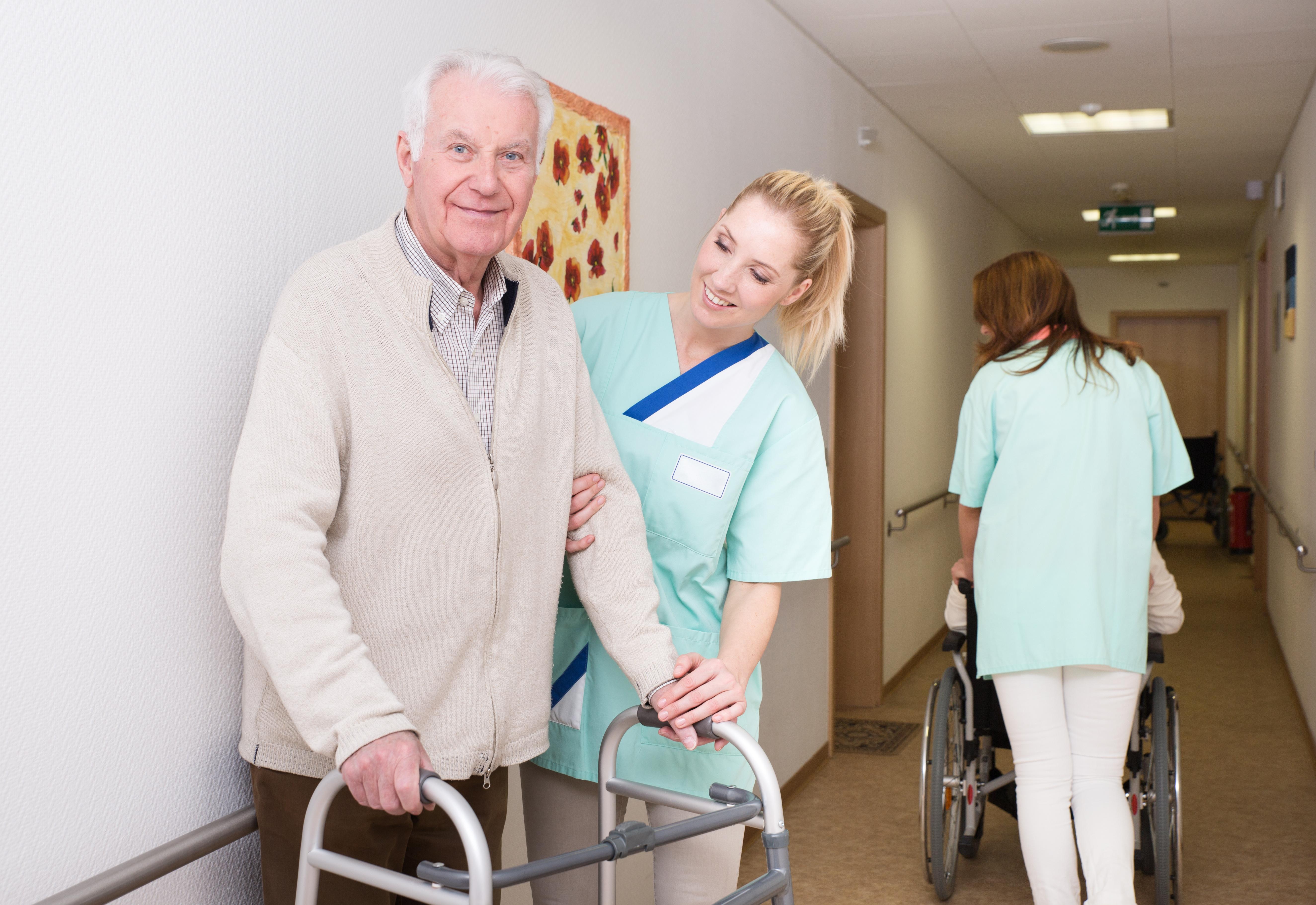 Betreutes wohnen – Altenpflege – Professionelle Pflege