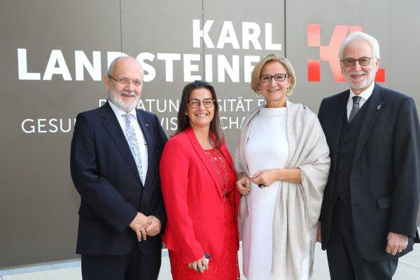 AT: Karl Landsteiner Universität Krems feiert 5jähriges Bestehen