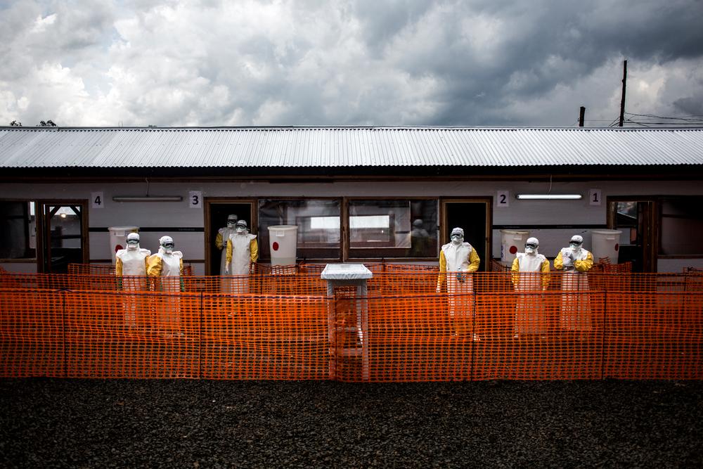 Ärzte ohne Grenzen eröffnet ein Zentrum für Ebola-Verdachtsfälle in Beni