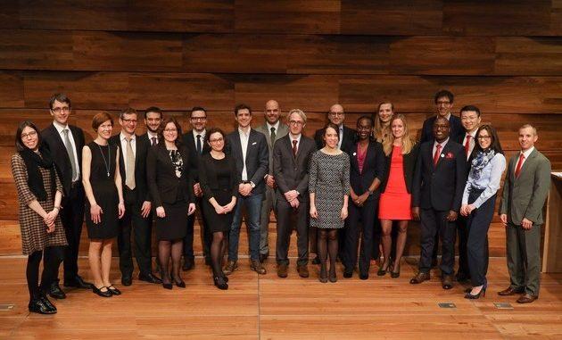 Die Preisträgerinnen und Preisträger des Jahres 2019. © Stiftung Pfizer Forschungspreis