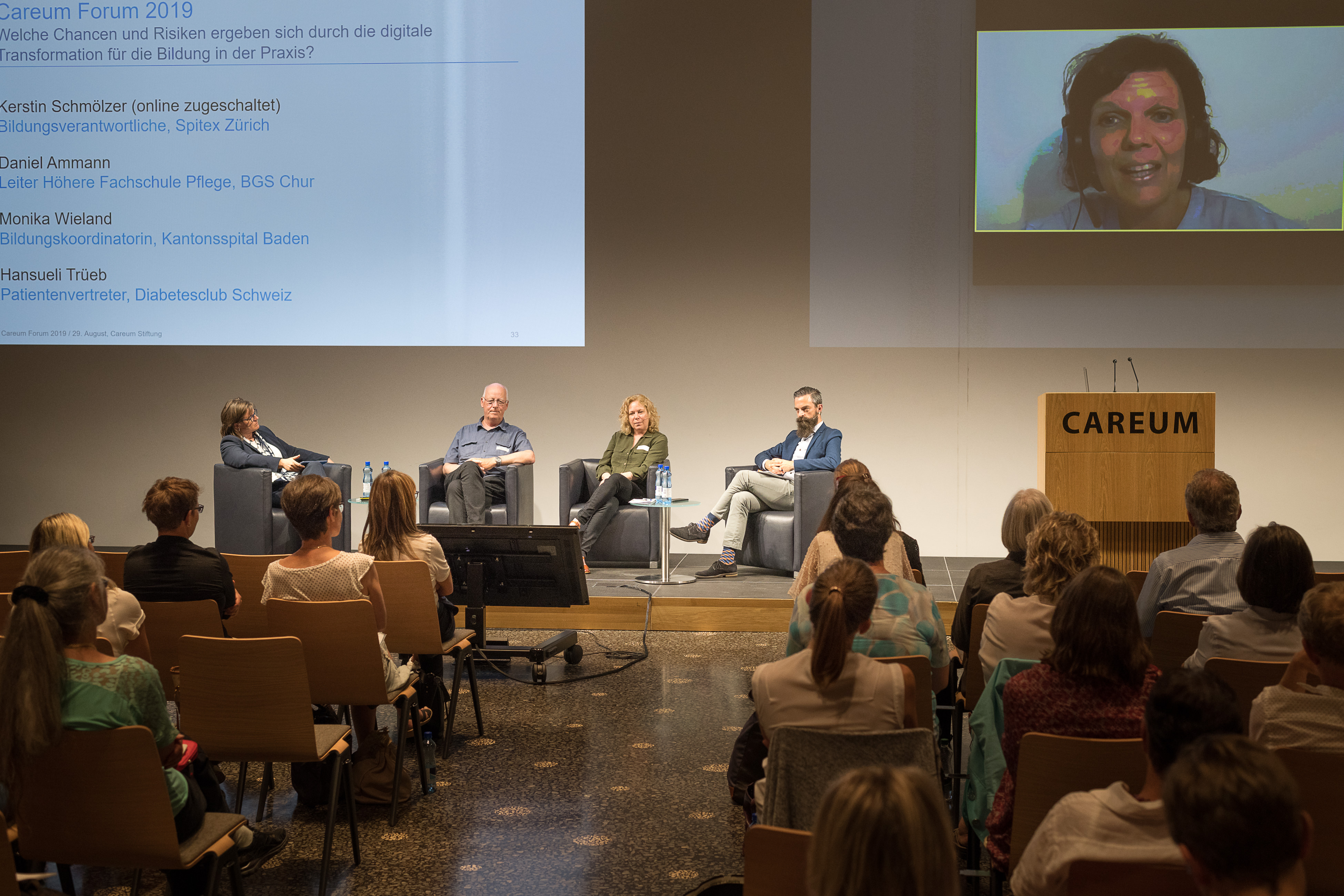 Digital – genial oder fatal? – Ein Kurzbericht vom Careum Forum 2019 zu den Auswirkungen der Digitalisierung auf die praktische Aus- und Weiterbildung in den Gesundheitsberufen