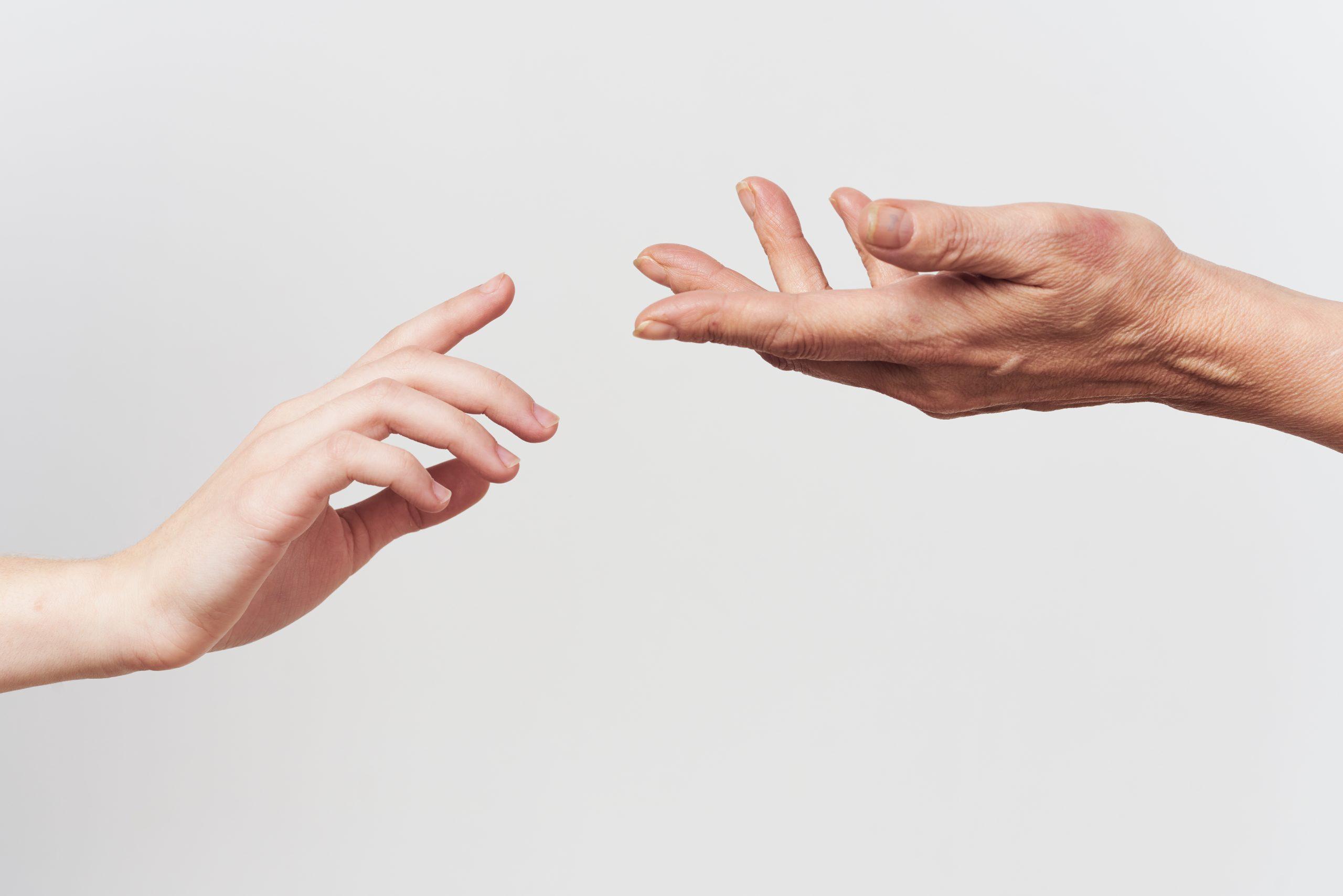 Berührung Beziehung