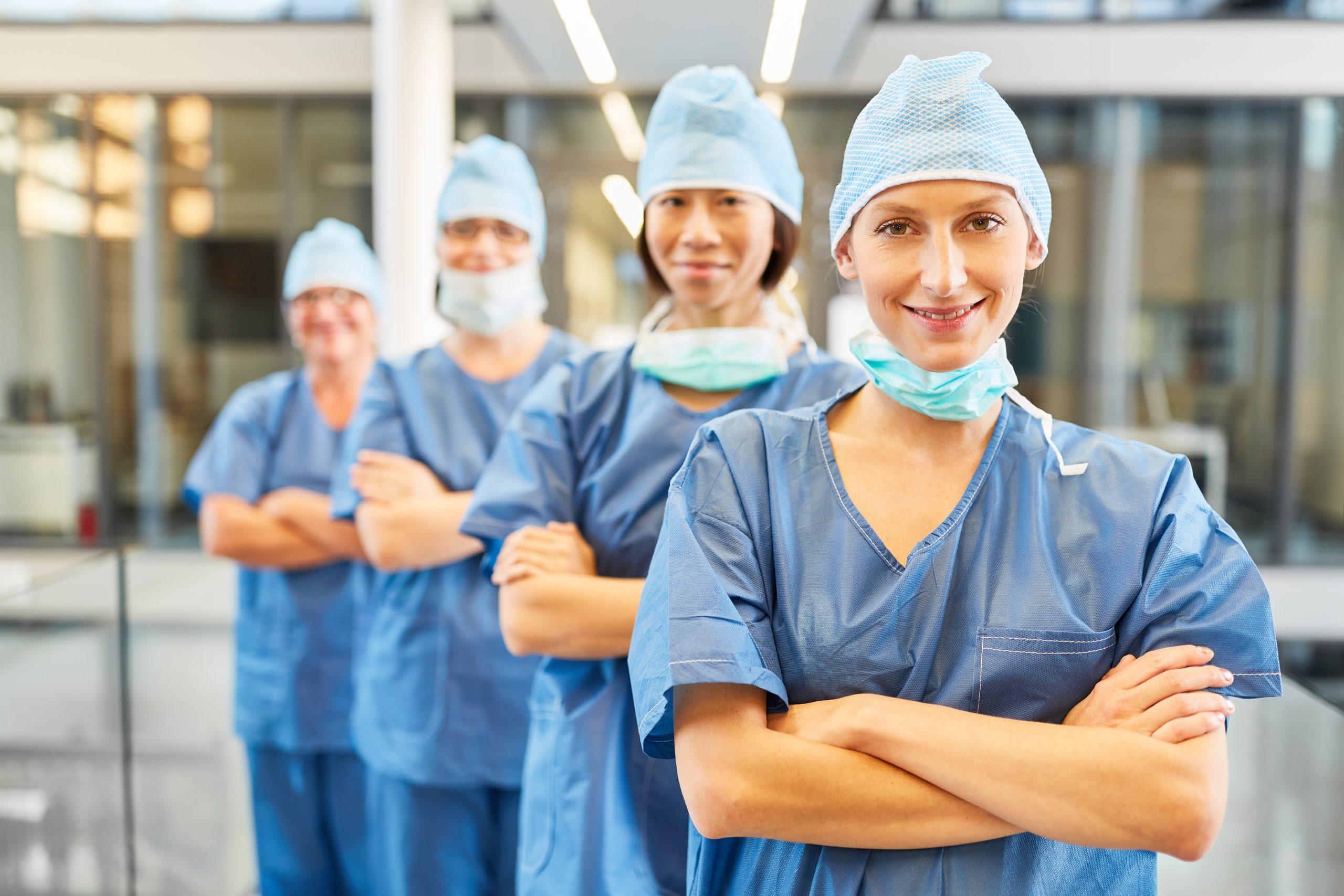 Krankenpflege – OP – Stolz