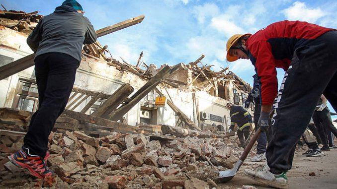 AT: Caritas unterstützt beim Wiederaufbau nach Erdbeben in ...