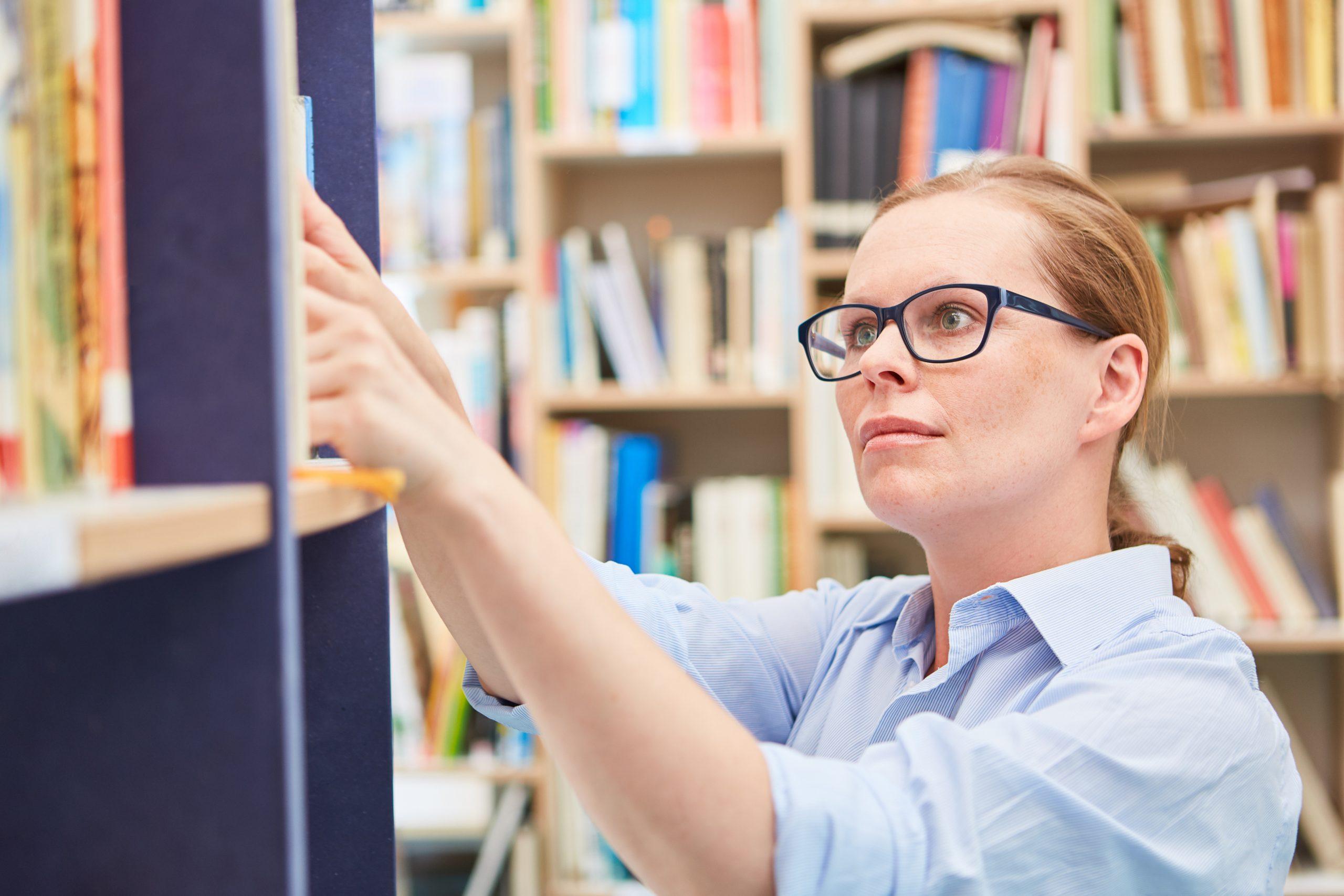 Literaturrecherche Bücher Bibliothek