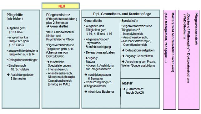 Abb.1 Modellvorschlag der LandesgesundheitsreferentInnen vom 14.5.2014